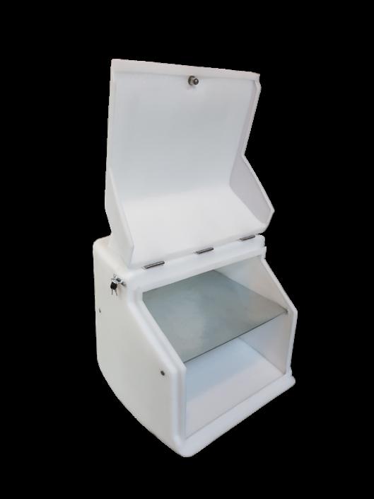 Εσωτερικός χώρος κουτι ντελίβερι μεγάλο για πίτσα 4x4 xl pizzafan pizzahut