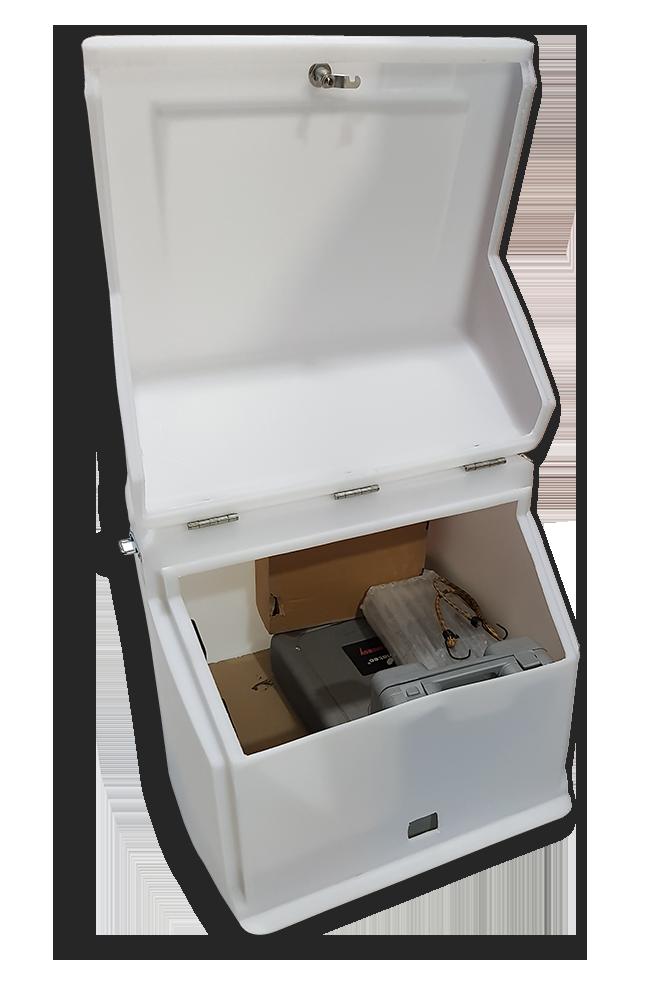 Κουτί ταχυδρομείου κούριερ ΕΛΤΑ Speedex ACS για μεταφορά δεμάτων
