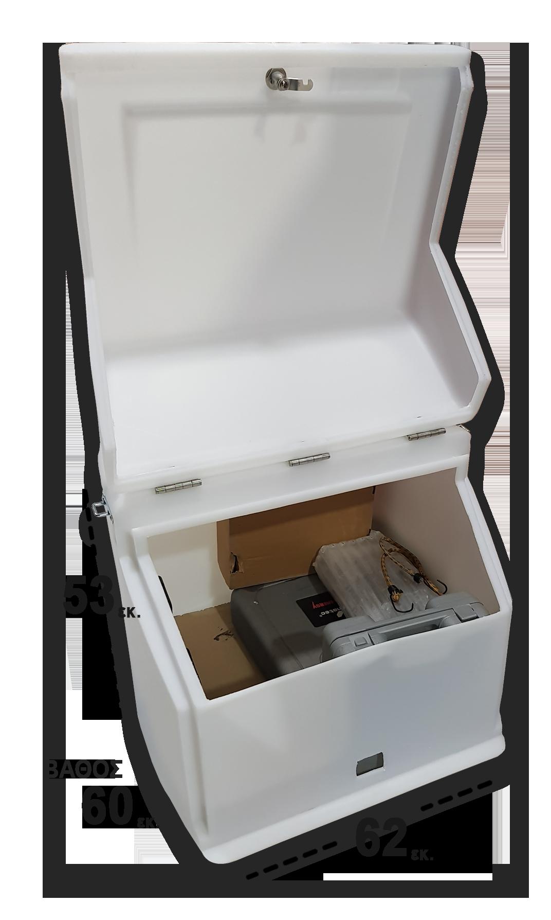 Κουτί ταχυδρομείου κούριερ ΕΛΤΑ Speedex ACS για μεταφορά