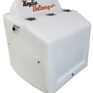 Κουτί delivery γίγας 4x4 xl τύπου pizza fan pizza hut ετοιμοπαράδοτο σε 7 χρώματα