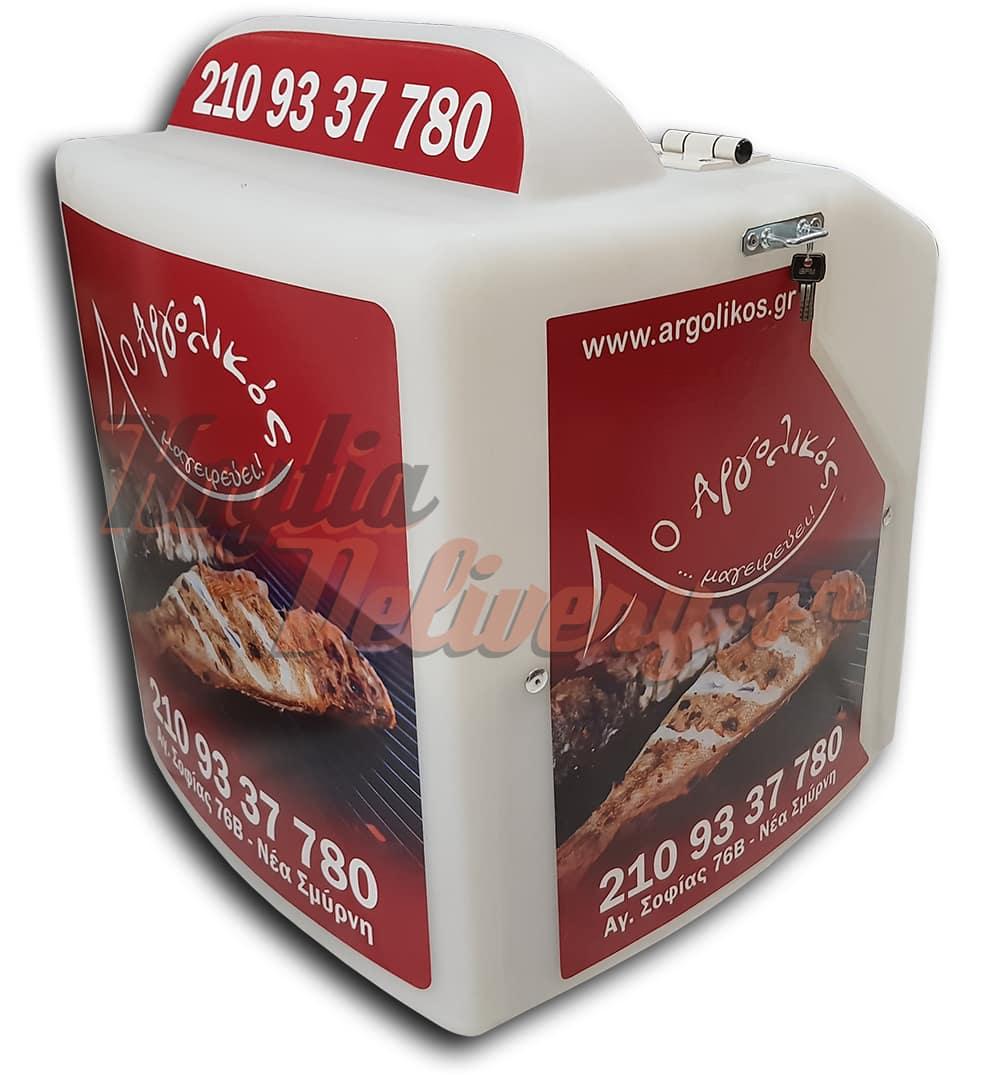 Κουτί delivery για ψαραγορά ψησταριά ντελίβερι Αργολικός-min