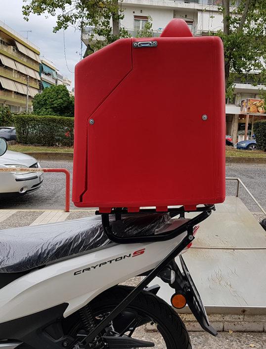 Ανοιγόμενη σχάρα για κουτιά delivery