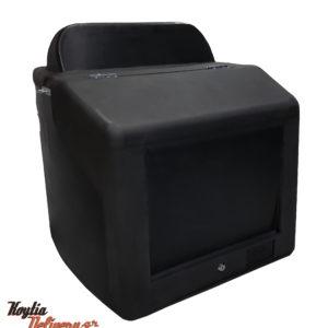 Πολεστερικό κουτί διανομής - πολυκαρμπονάτο - μεγάλο μέγεθος για μεταφορά τροφίμων - πίτσας