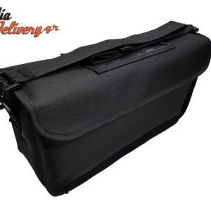 Τσάντα delivery διανομής 11x40x20 3 θέσεων μικρός φαγητό εστιατόριο εστίαση ισοθερμικός θερμόσακος
