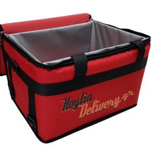 Εσωτερική Ισοθερμικός σάκος θερμόσακος κουτί διανομής θερμομονωτικός μεγάλος delivery ντελιβερι koytiadelivery.gr
